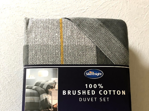 Silentnight duvet sets review- brushed cotton and waffle.