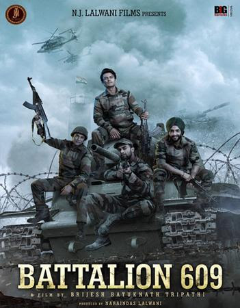 Poster Of Hindi Movie Battalion 609 2019 Full FHD Movie Free Download 1080P Watch Online