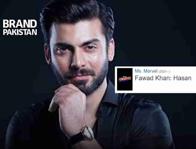 In Ms. Marvel there is a twist is that Fawad Khan will be act in it and making his first hollywood movie