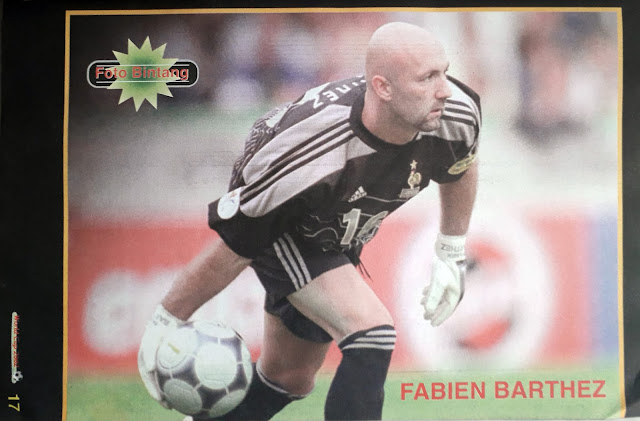 FOTO BINTANG FABIEN BARTHEZ (PRANCIS)