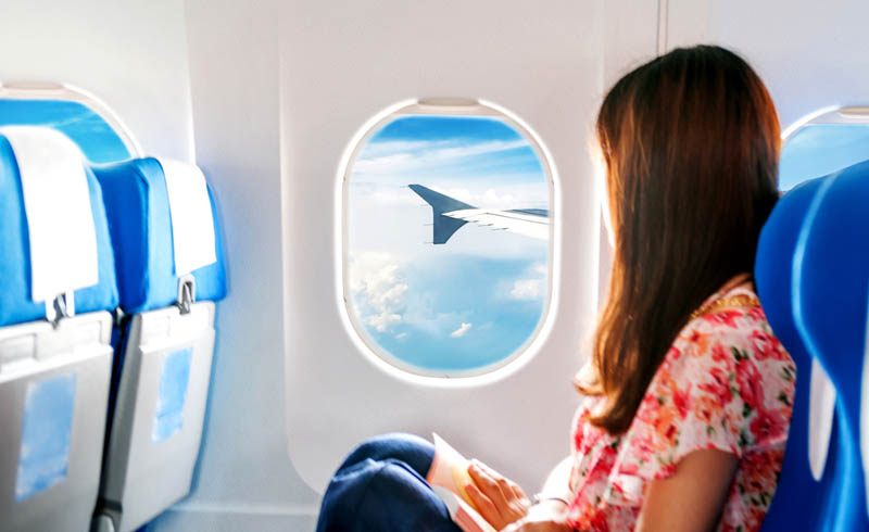 airplanes, flu season, where to sit on a plane, best seats on a plane