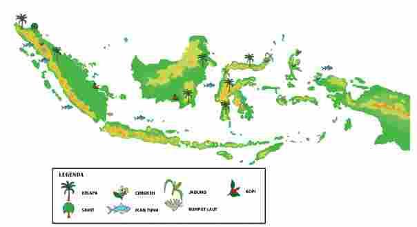 Peta Sumber daya Alam