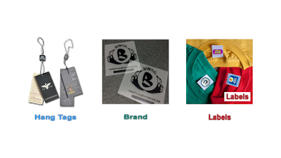 HAND TAGS LABELS STICKER OPP PLASTIC