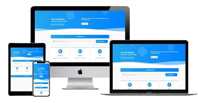Safelink Bootstrap, Safelink True URL, Safelink Viomagzz Blogger Template Free