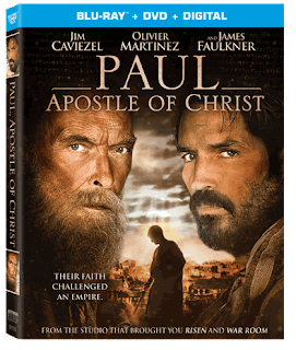 Paul, Apostle of Christ dvd cover