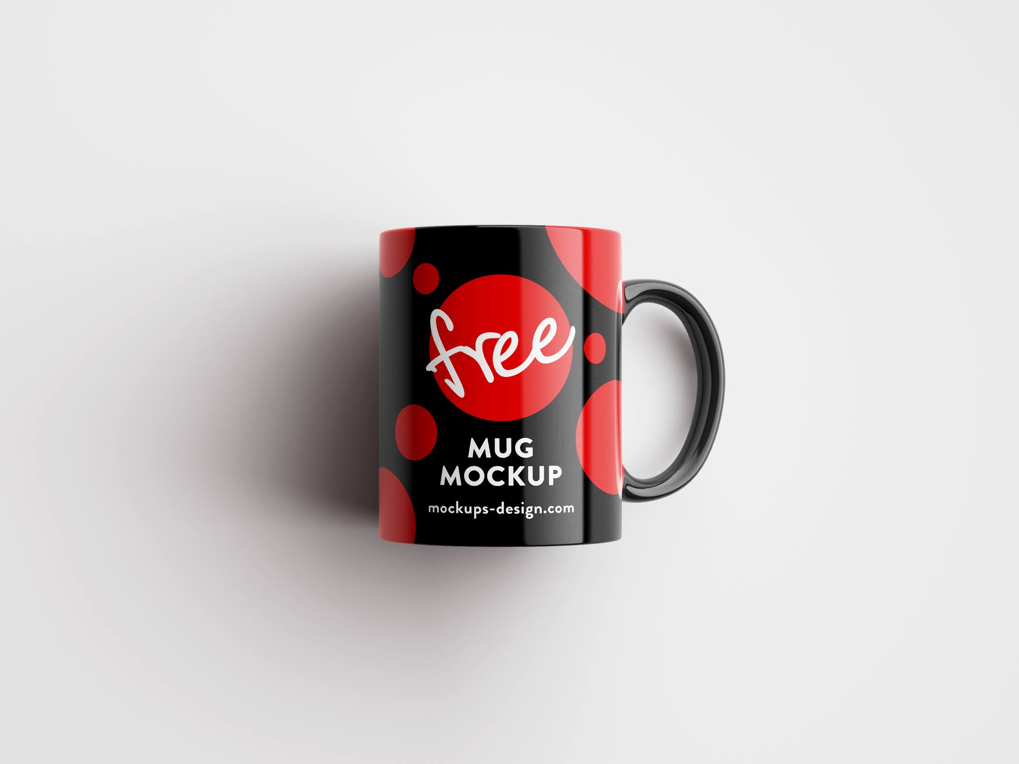 Download Mockup Mag View 4 different shapes to professionally display the designs of mugs