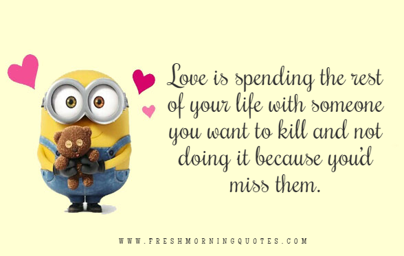 love is minion love quotes for valentines day