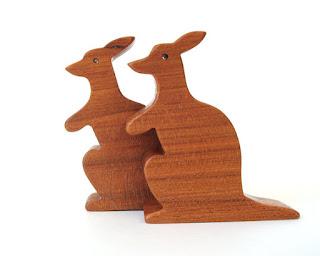 Wooden Kangaroos