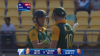 AB de Villiers 99 - South Africa vs UAE Highlights - 36th Match - ICC Cricket World Cup 2015