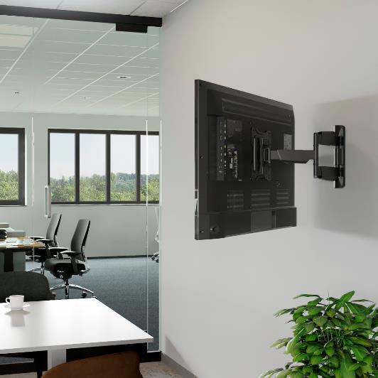 Hama apresenta nova gama de suportes de parede para TV
