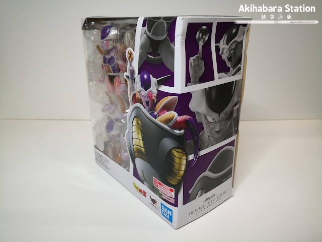 Review de S.H.Figuarts Freezer 1st Form & Pod de Dragon Ball Z - Tamashii Nations