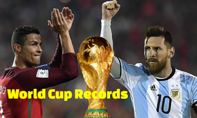 FIFA World Cup 2018 Russia, Ronaldo Hat-Trick, Diego Coast twice, Portugal 3-3 Spain Equaliser. Stats-Records.