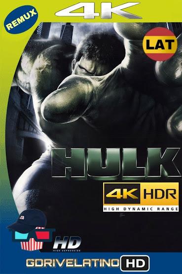 Hulk (2003) BDRemux 4K HDR Latino-Ingles MKV
