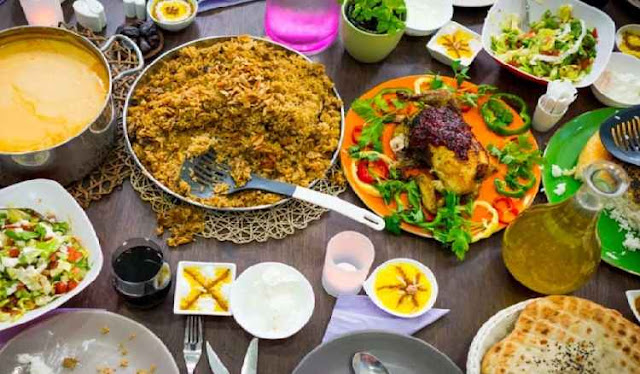 In Persian Iftar is called as?