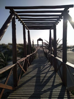 Cortadura de Cádiz, una de las playas de Cádiz