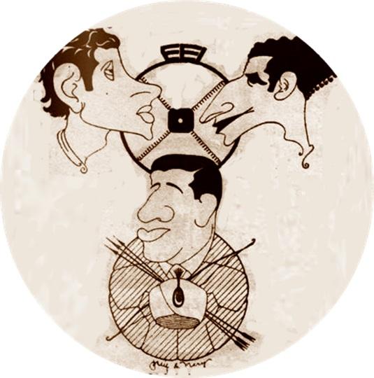 Caricatura firmada por Puig & Nery