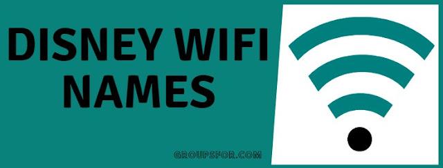 disney wifi names list