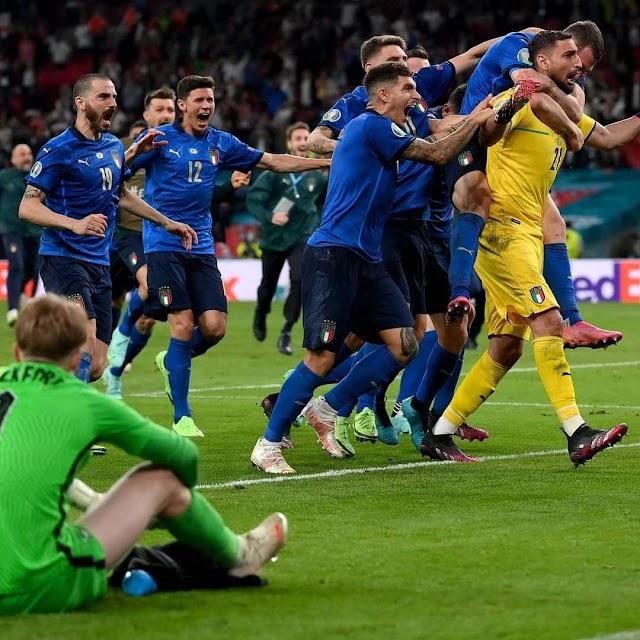 Ιταλία - Αγγλία 1-1: (3-2 πέναλτι) It's coming to Rome