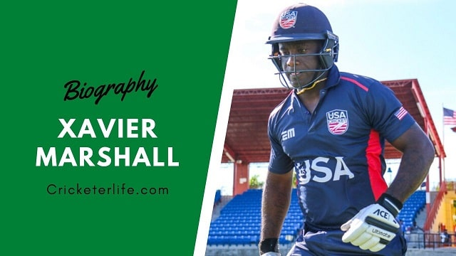 Xavier Marshall cricketer Profile, age, height, stats, wife, etc.