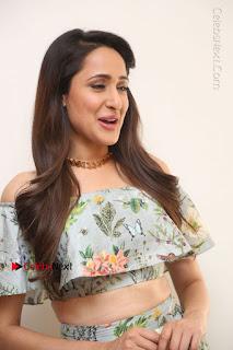 Actress Pragya Jaiswal Stills in Floral Dress at turodu Interview  0009.JPG