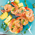 Shrimp And Pineapple Skewers With Peanut Sauce Recipe