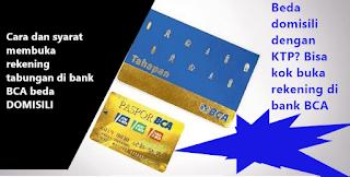 cara dan syarat untuk membuka rekening tabungan di bank BCA