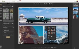 edit background foto online melalui fotor.com