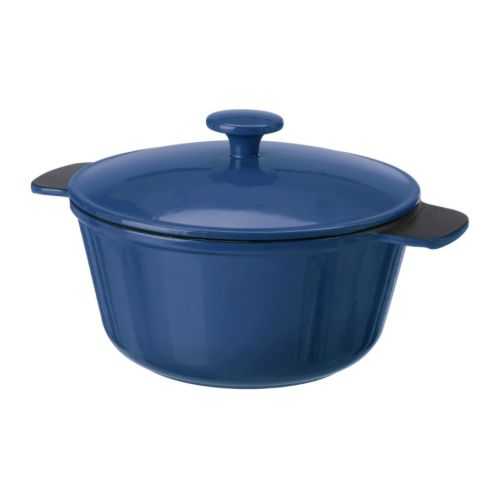 Review Everything: IKEA 'SENIOR' Cast Iron Casserole Dish