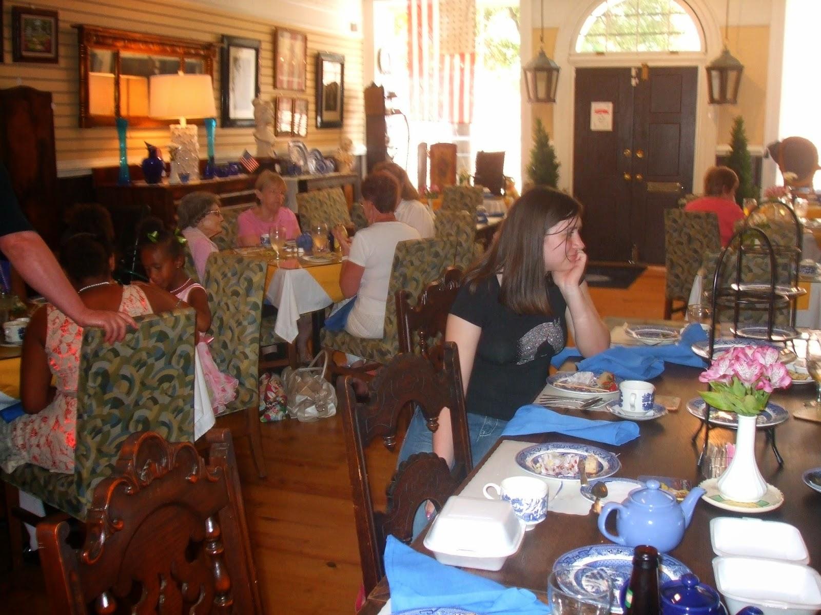 Blue Tea Room Petersburg