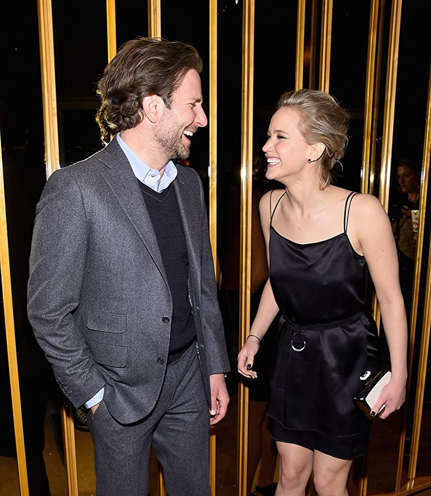 Bradley Cooper and Jennifer Lawrence at an event for Serena (2014)