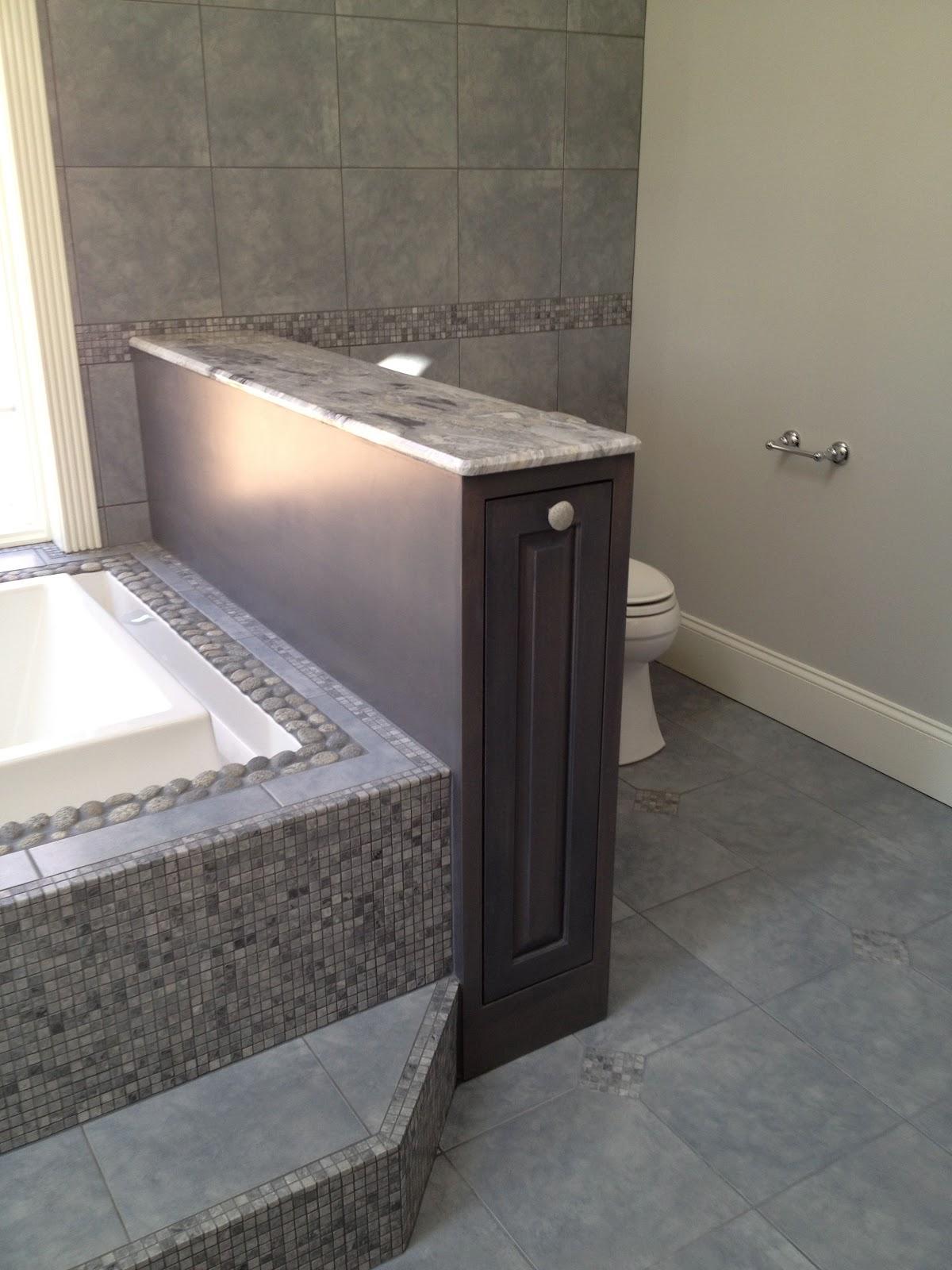 Stone Pond House Master Bathroom