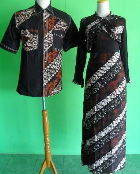 10 Model Baju Batik Sarimbit Modern Terbaru 2018: 10 Model Baju Batik Kombinasi Bolero Terbaru 2018