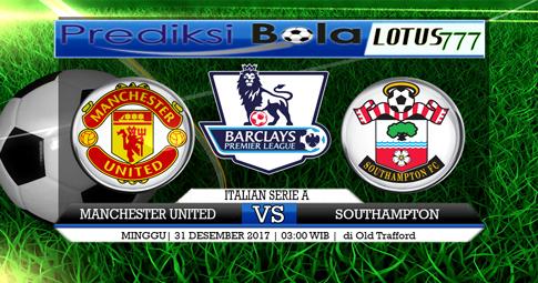 PREDIKSI   Manchester United vs Southampton  31 DESEMBER 2017