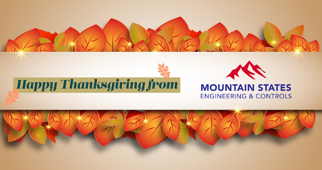 Happy Thanksgiving from Mountain States Engineering and Controls