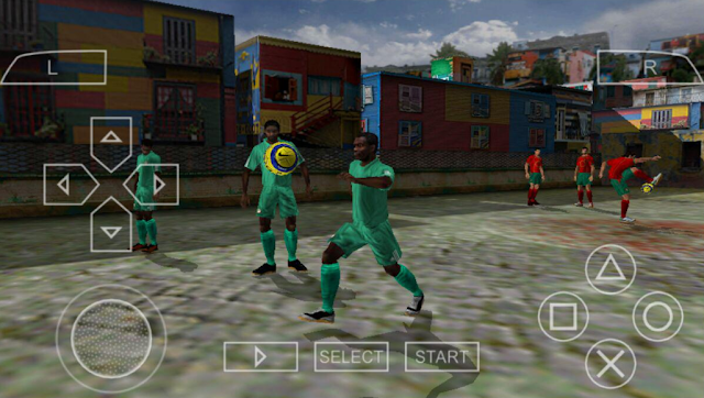 تحميل لعبة FIFA Street 2 لأجهزة psp ومحاكي ppsspp