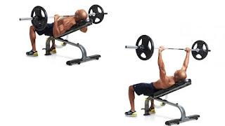 Cara Melatih Otot Dada Menggunakan Sistem Superset - incline bench press