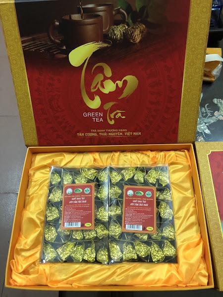 Trà xanh Thái Nguyên 500g   Lựa chọn số 1 cho người sành trà