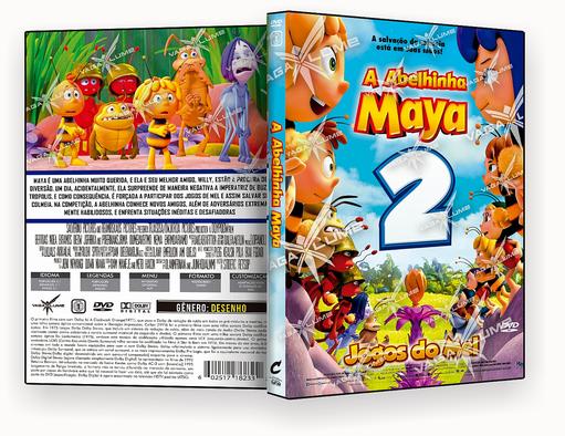 DVD – Abelha Maia 2 Os Jogos de Mel – ISO