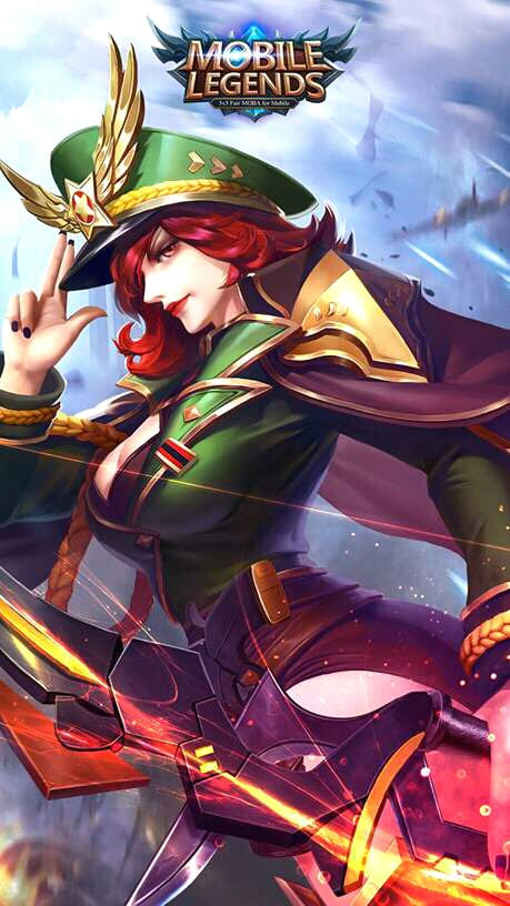 Wallpaper Miya Captain Thorns Skin Mobile Legends HD for Android and iOS