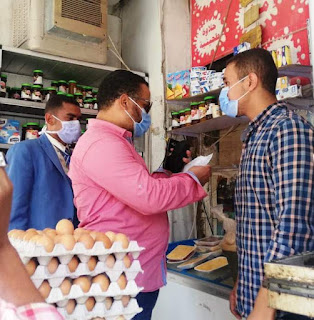 أشرف عطية.. يتابع نتائج تنفيذ حملة تفتيش مكبرة داخل أسواق مدينة أسوان إستمرت على مدار يومين