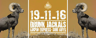 ‎Drunk Jackals, Limpin Express, Sum Guys at AN Club 2016