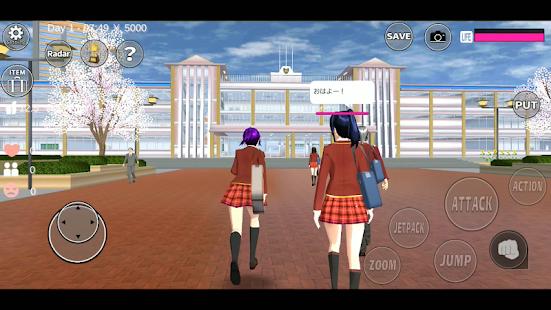 Descargar SAKURA School Simulator MOD APK 1.036.07 (Dinero ilimitado, Todo Desbloqueado) Gratis para Android