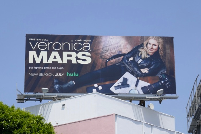 Veronica Mars season 4 Hulu billboard