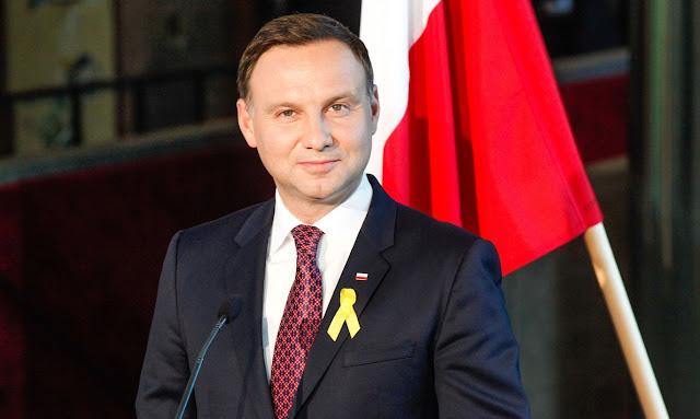 Фото: президент Польши Анджей Дуда.