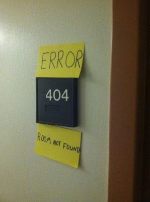 404 Room not found