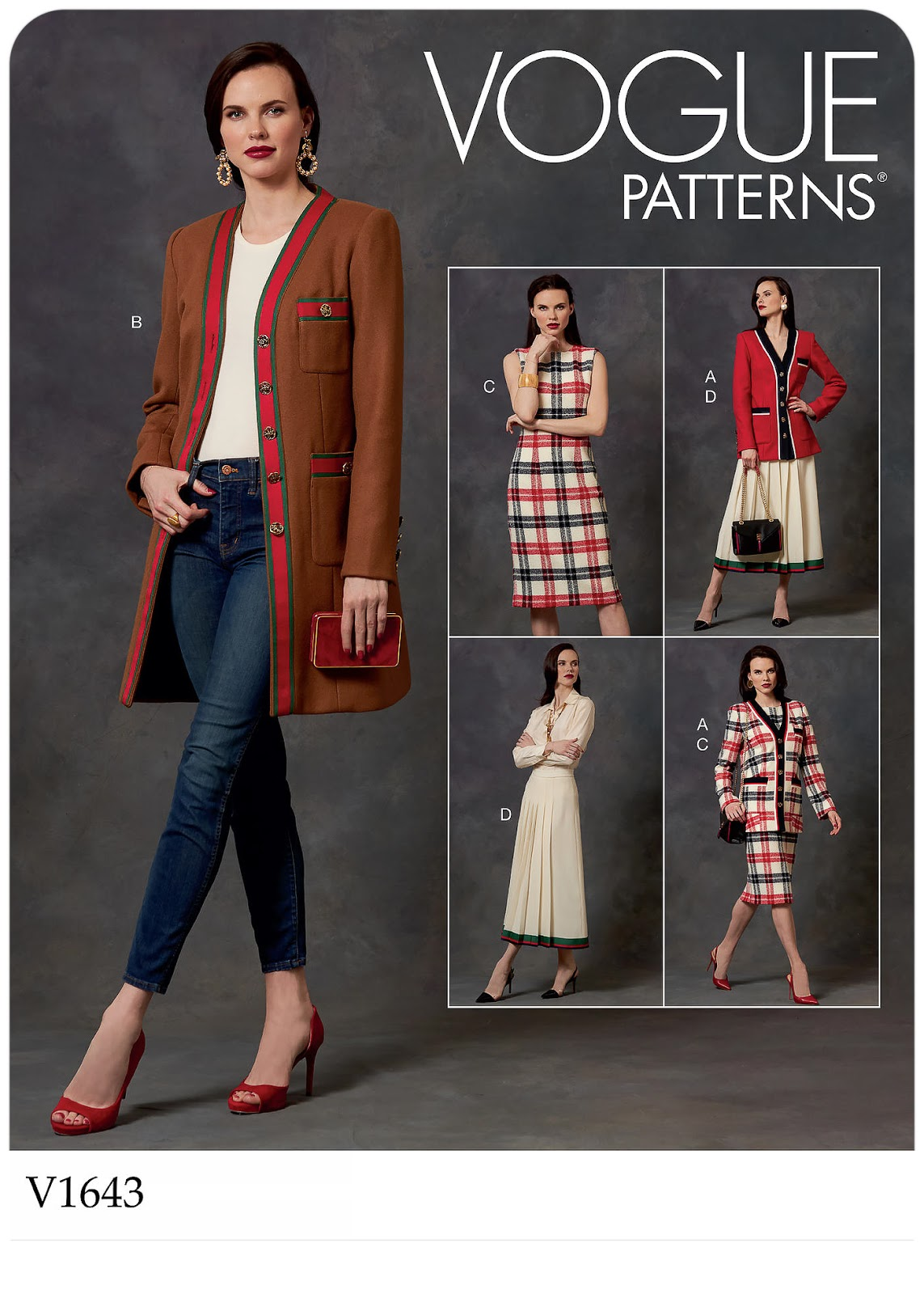 Vogue Patterns 1643 - #V1643