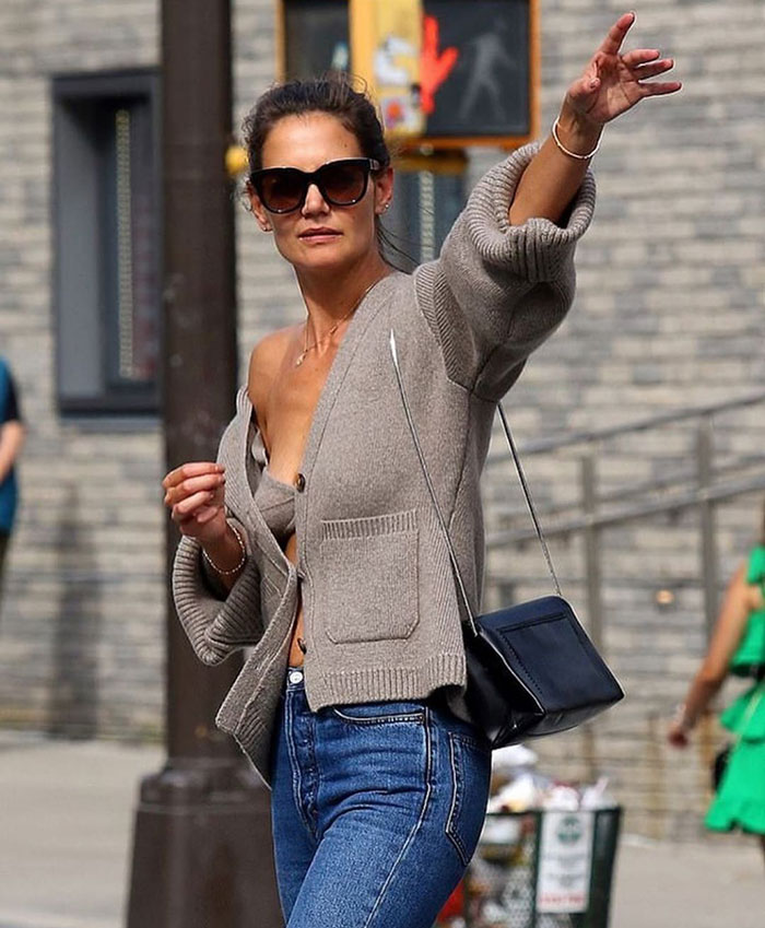 Style File | Look of the Moment: Knit Bra / Tank Top & Cardigan Sweater Sets