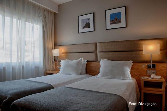 Hospedagem em Coimbra - apartamento do Hotel Oslo, na Baixa