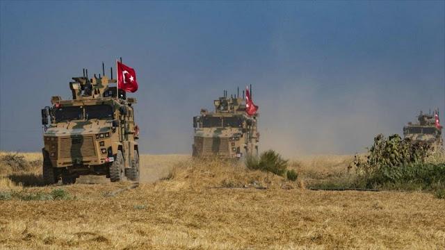 """EEUU y Turquía realizan tercera patrulla en """"zona segura"""" de Siria"""