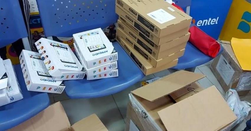 Denuncian que MINEDU entrega tablets sin chip a escolares en La Libertad